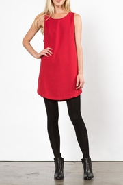 LoveRiche Red Pyramid Dress - Front cropped