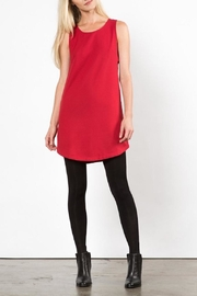 LoveRiche Red Pyramid Dress - Front full body