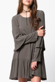 LoveRiche Ruffle Sleeve Dress - Product Mini Image