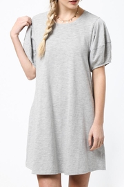 LoveRiche Saturday Dress Gray - Front full body