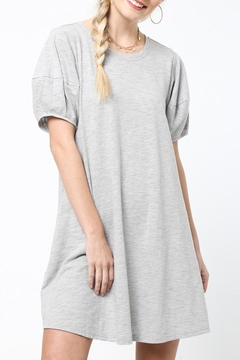 LoveRiche Saturday Dress Gray - Product List Image