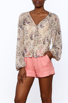 LoveRiche Shimmer Crop Top - Product List Image