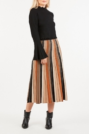 LoveRiche Stripped Knitted Skirt - Front cropped