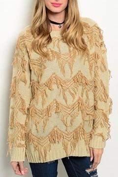 Shoptiques Product: Tan Sweater