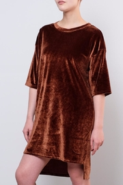 LoveRiche Velvet Tunic - Product Mini Image