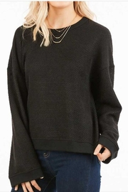 LoveRiche Waffle Knit Top - Front cropped
