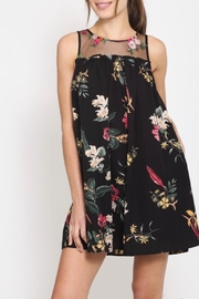 LoveRiche Woven Floral Dress - Product Mini Image