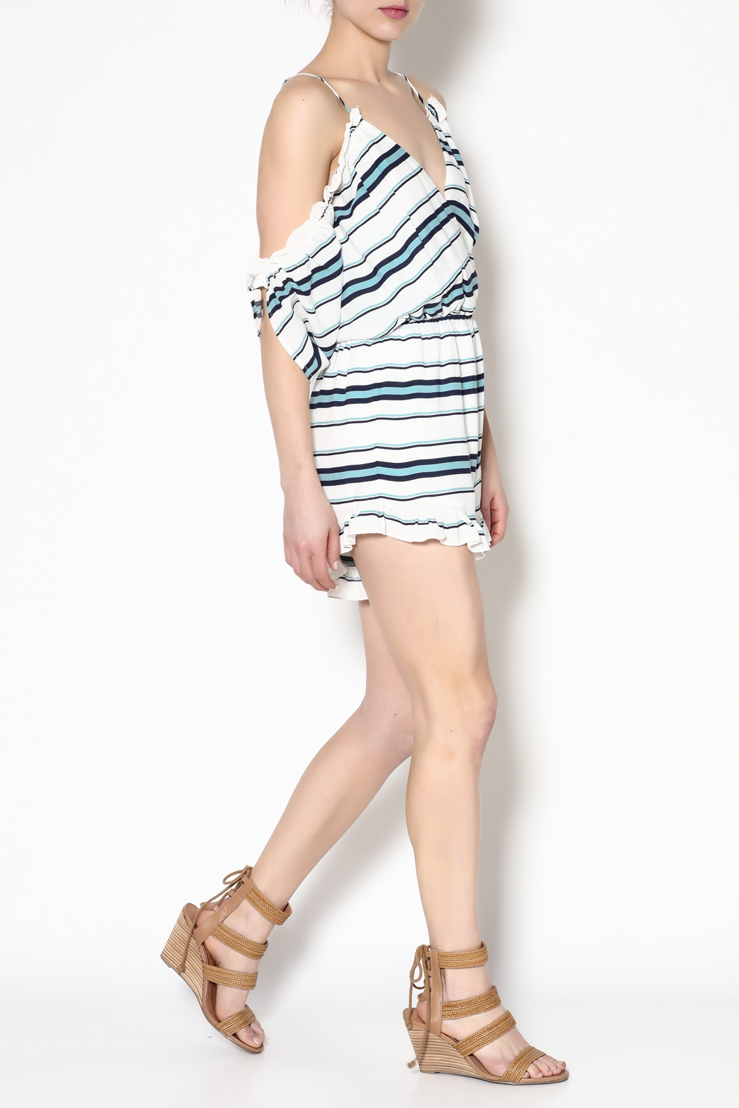 Lovers + Friends Comfy Cruiser Romper - Front Full Image
