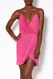 Lovers + Friends Pink Muse Dress - Front cropped