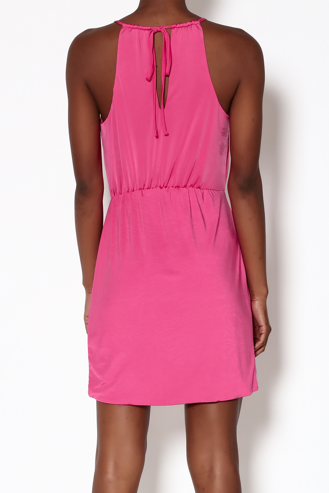 Lovers + Friends Pink Muse Dress - Back Cropped Image
