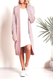 Lovers + Friends Pink Cozy Cardigan - Product Mini Image