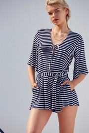 Lovers + Friends Cruiser Romper - Front cropped