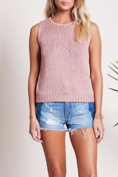 Lovers + Friends Dunes Knit Tank - Product List Image