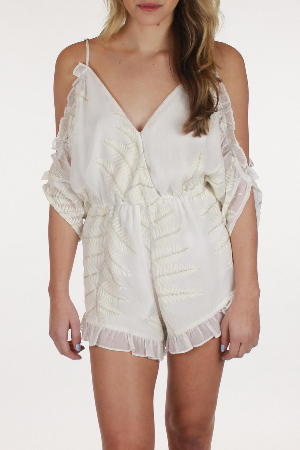 329d957ceaad Lovers + Friends Malia Ruffled Romper from California by pinkadot ...
