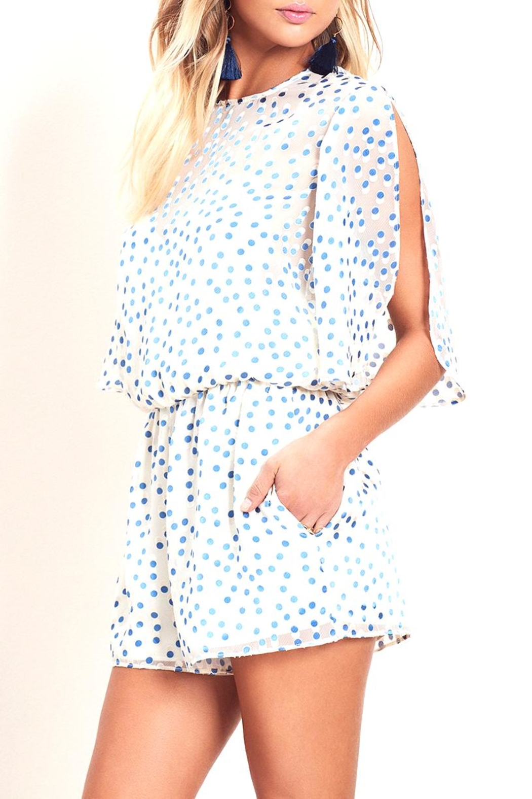 Lovers + Friends Mine Romper - Side Cropped Image