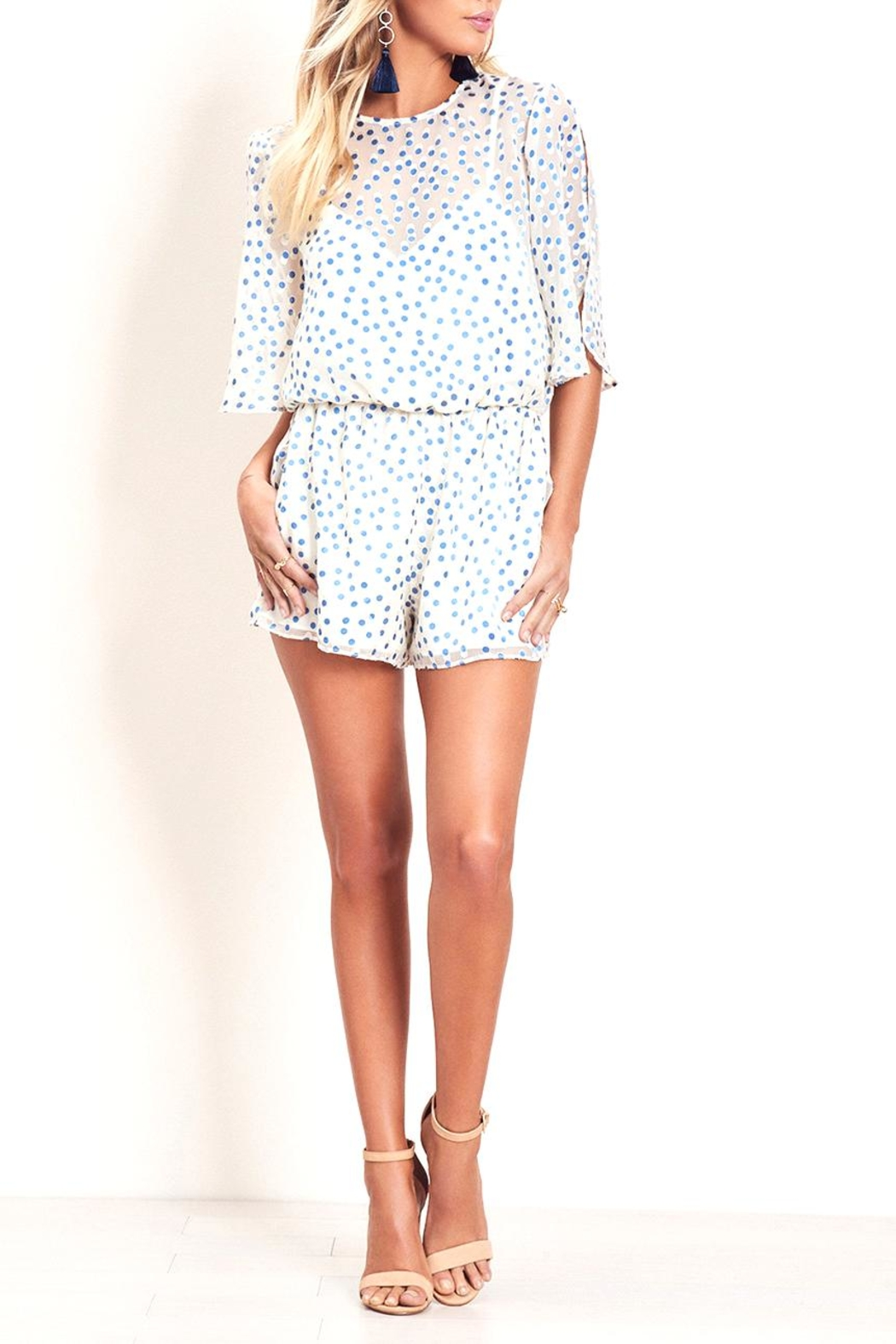 Lovers + Friends Mine Romper - Front Cropped Image