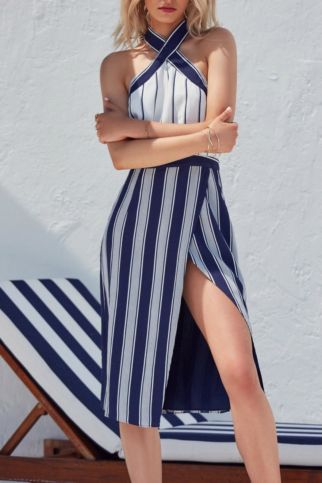 Lovers + Friends Noemi Dress from Orange County by Jeanni Champagne ...