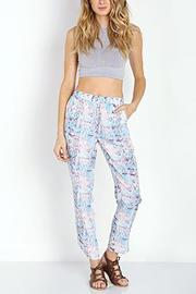 Lovers + Friends Pastel Python Pant - Product Mini Image
