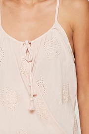 Lovestitch All Over Embroidered - Back cropped