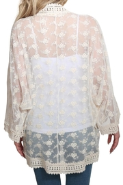 Lovestitch All Over Lace Kimono - Other