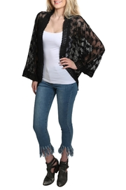 Lovestitch All Over Lace Kimono - Side cropped