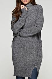 Lovestitch Assymetrical Sweater Dress - Front cropped