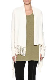 Lovestitch Asymmetrical Fringed Sweater - Product Mini Image