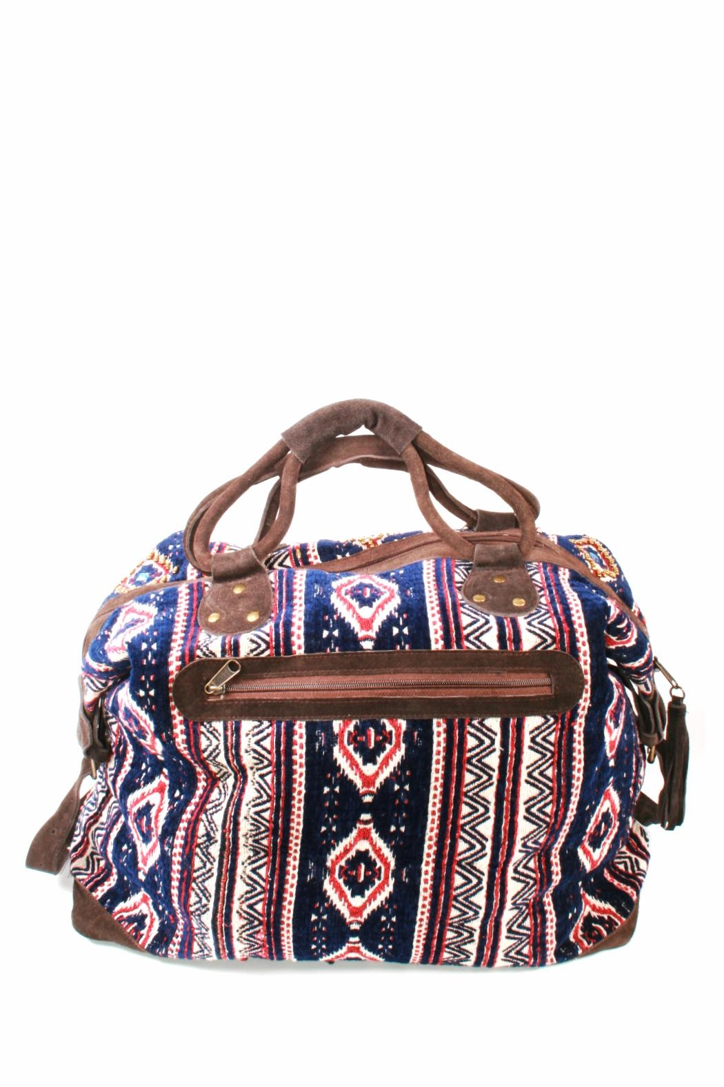 Lovestitch Beaded Travel Bag - Side Cropped Image