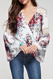Lovestitch Bell Sleeve Top - Product Mini Image