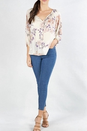 Lovestitch Bishop Peasant Top - Front cropped
