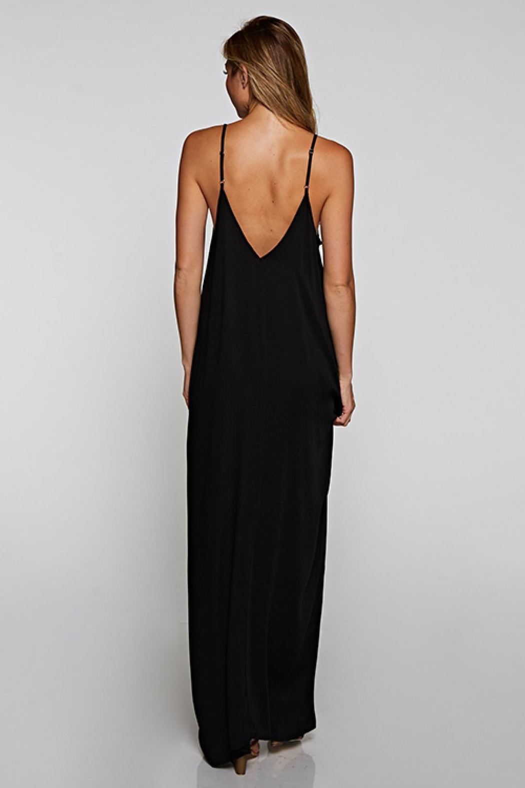 Lovestitch Black Cocoon Maxi - Front Full Image