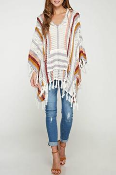 Shoptiques Product: Breezy Crochet Poncho
