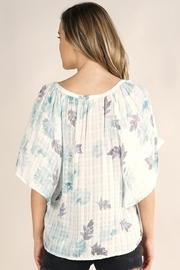 Lovestitch Butterfly Sleeve Top - Side cropped