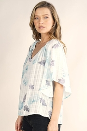 Lovestitch Butterfly Sleeve Top - Front full body