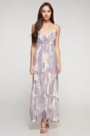 Lovestitch Cactus Twist Front Maxi Dress - Front cropped