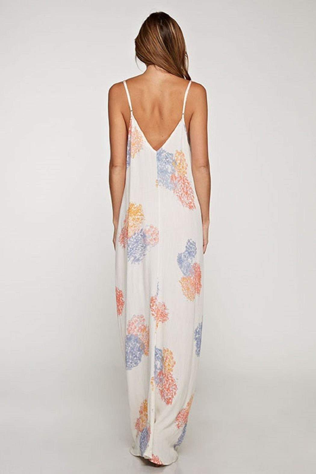 Lovestitch Cocoon Maxi Dress - Side Cropped Image