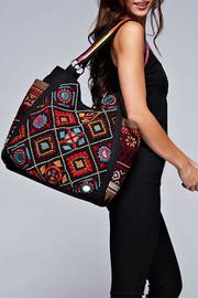Lovestitch Diamond Patterned Tapestry Tote - Product Mini Image