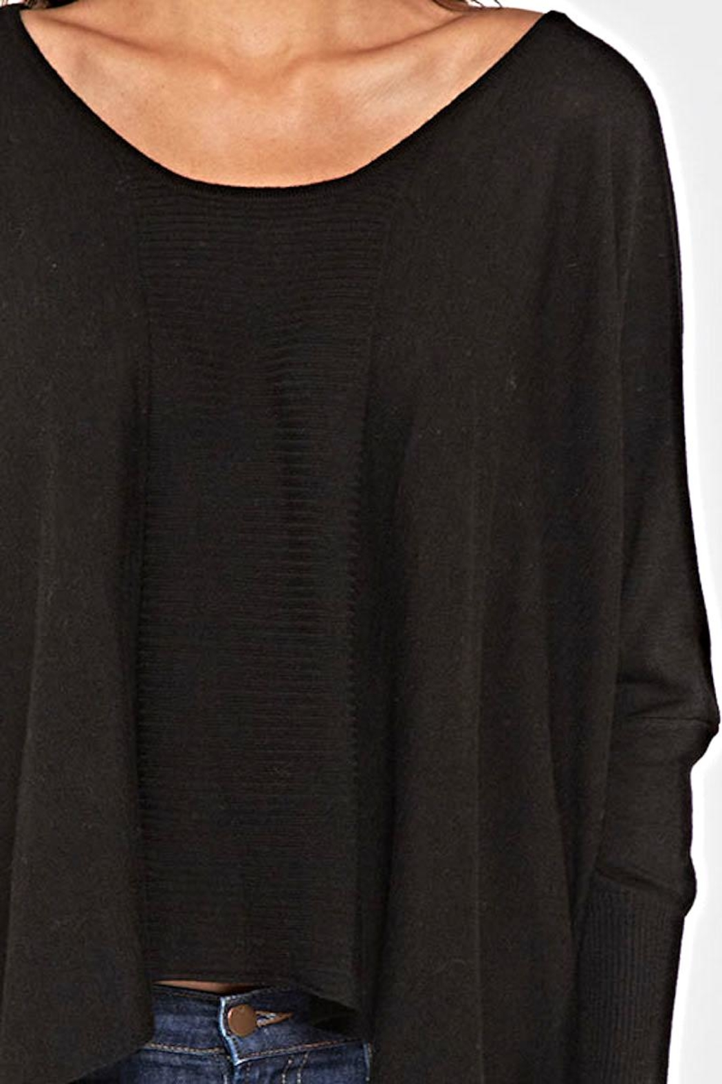 Lovestitch Dolman Sleeve Sweater - Side Cropped Image
