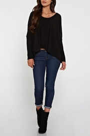 Lovestitch Dolman Sleeve Sweater - Front cropped