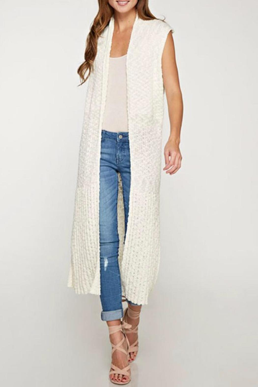 Lovestitch Duster Sweater Vest from Los Angeles by Karen Michelle ...