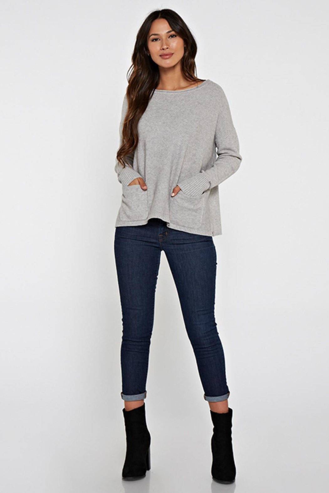 Lovestitch Elisa Sweater - Back Cropped Image