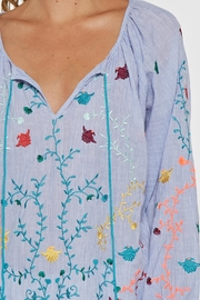 Lovestitch Embroidered Blouse - Side cropped
