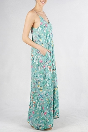 Lovestitch Embroidered Floral Maxi - Front full body