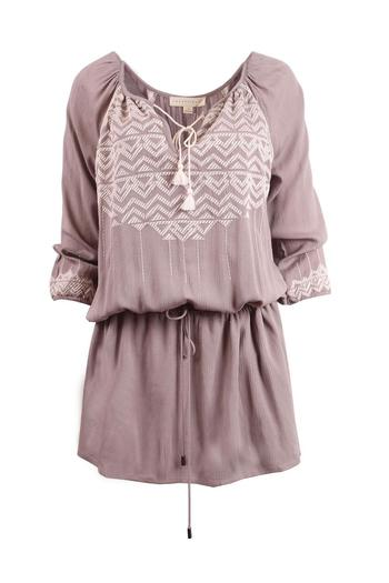 Lovestitch Embroidered Dress - Main Image