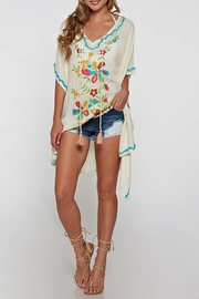 Lovestitch Embroidered Kaftan - Product Mini Image