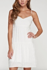 Lovestitch Eyelet Dress - Front cropped