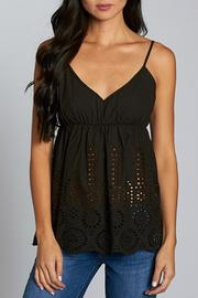 Lovestitch Eyelet Tank Top - Product Mini Image