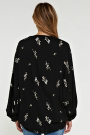 Lovestitch Floral Cardigan - Front full body