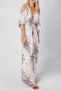 Shoptiques Product: Cold Shoulder Maxi Dress