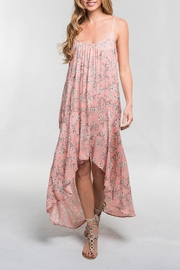 Lovestitch Floral Hi-Lo Maxi - Front cropped